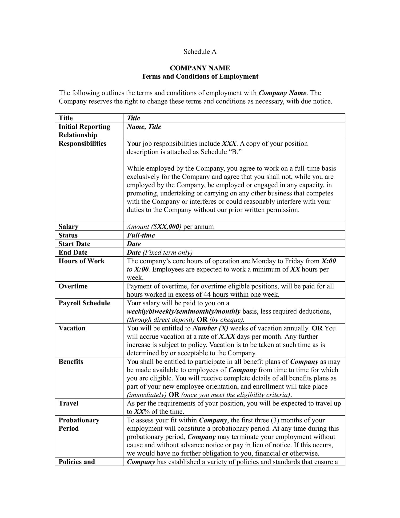 8 employment agreement forms employment agreement sample template platinumwayz