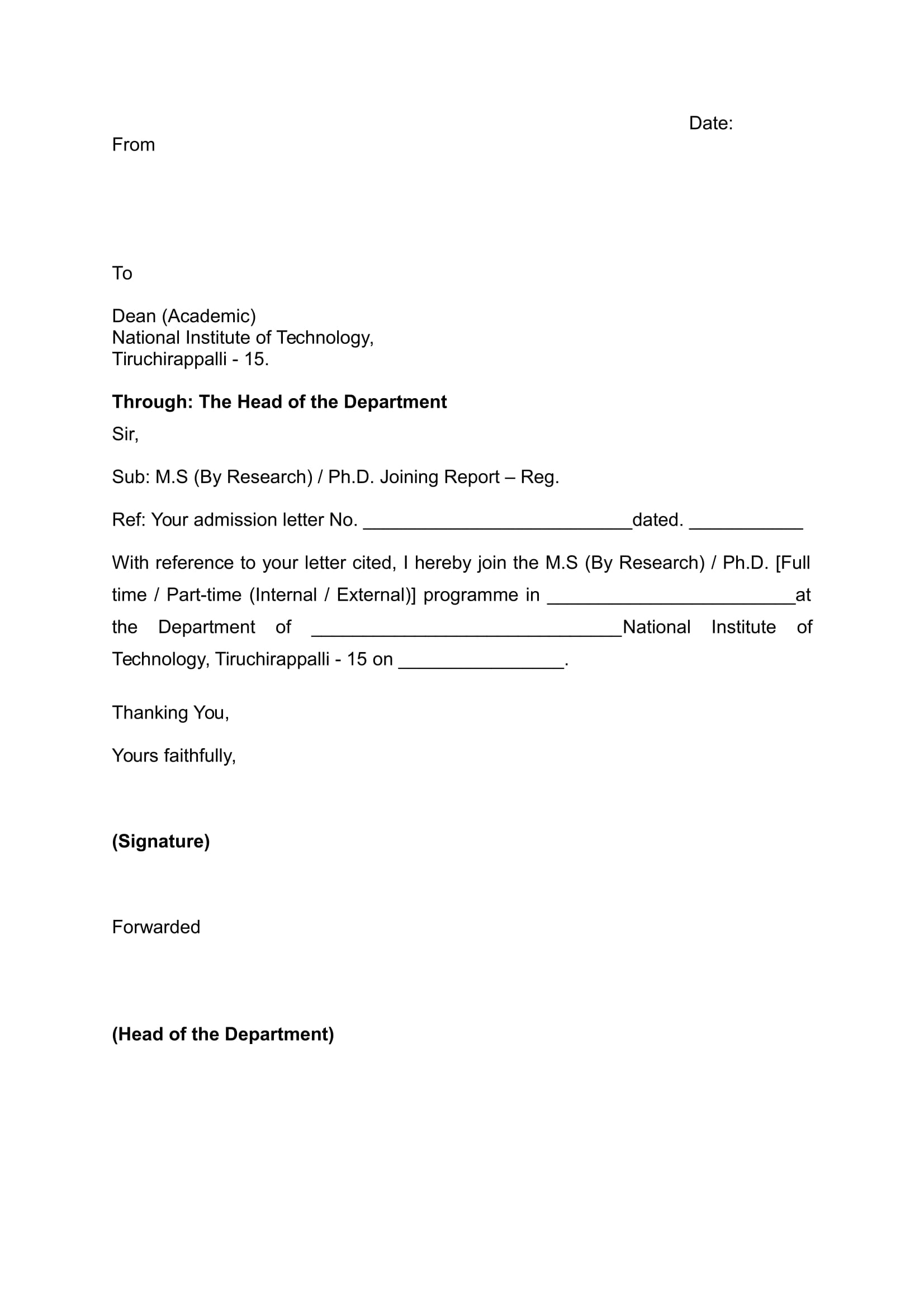 joining report form in doc 1