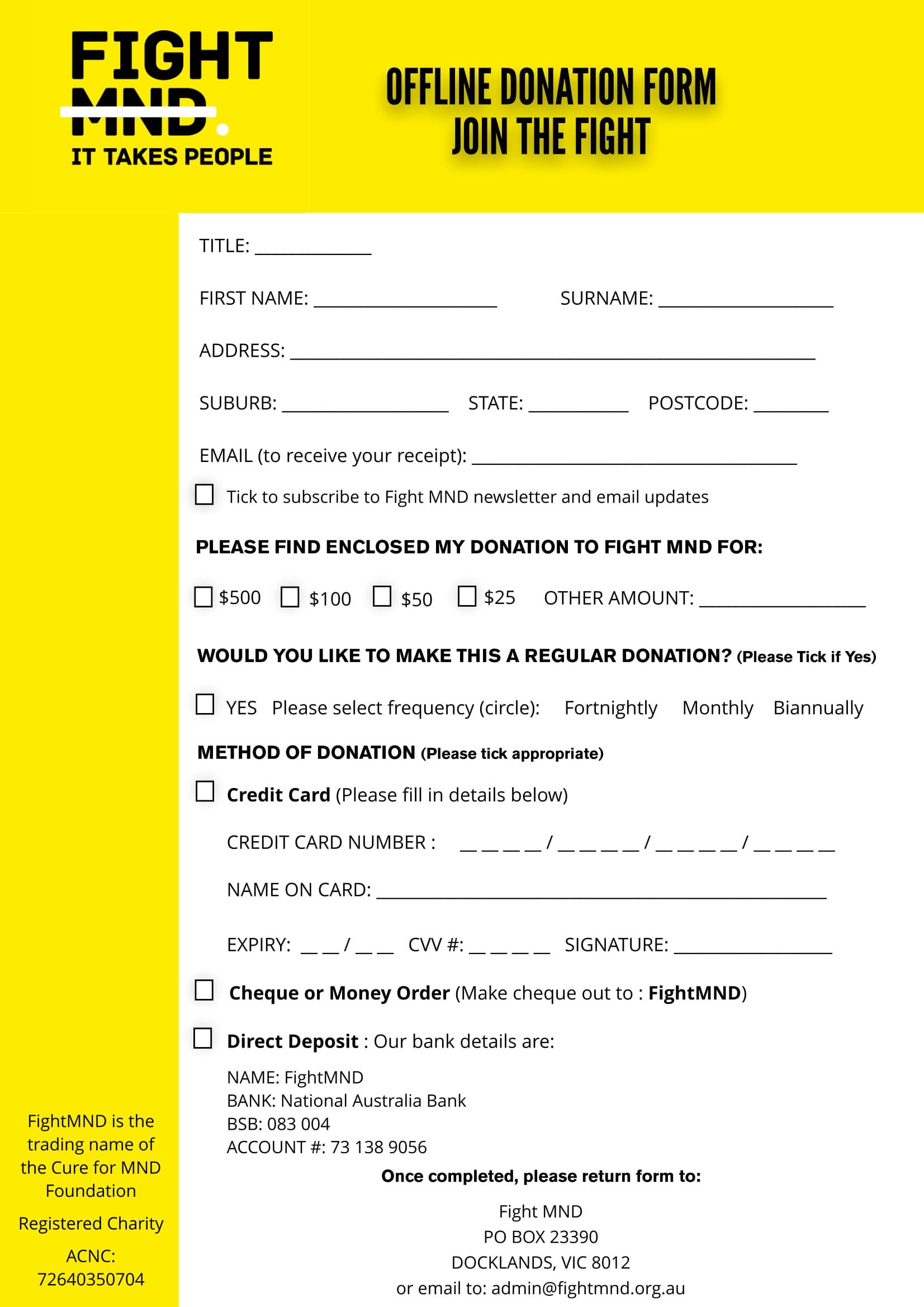 offline donation form 1