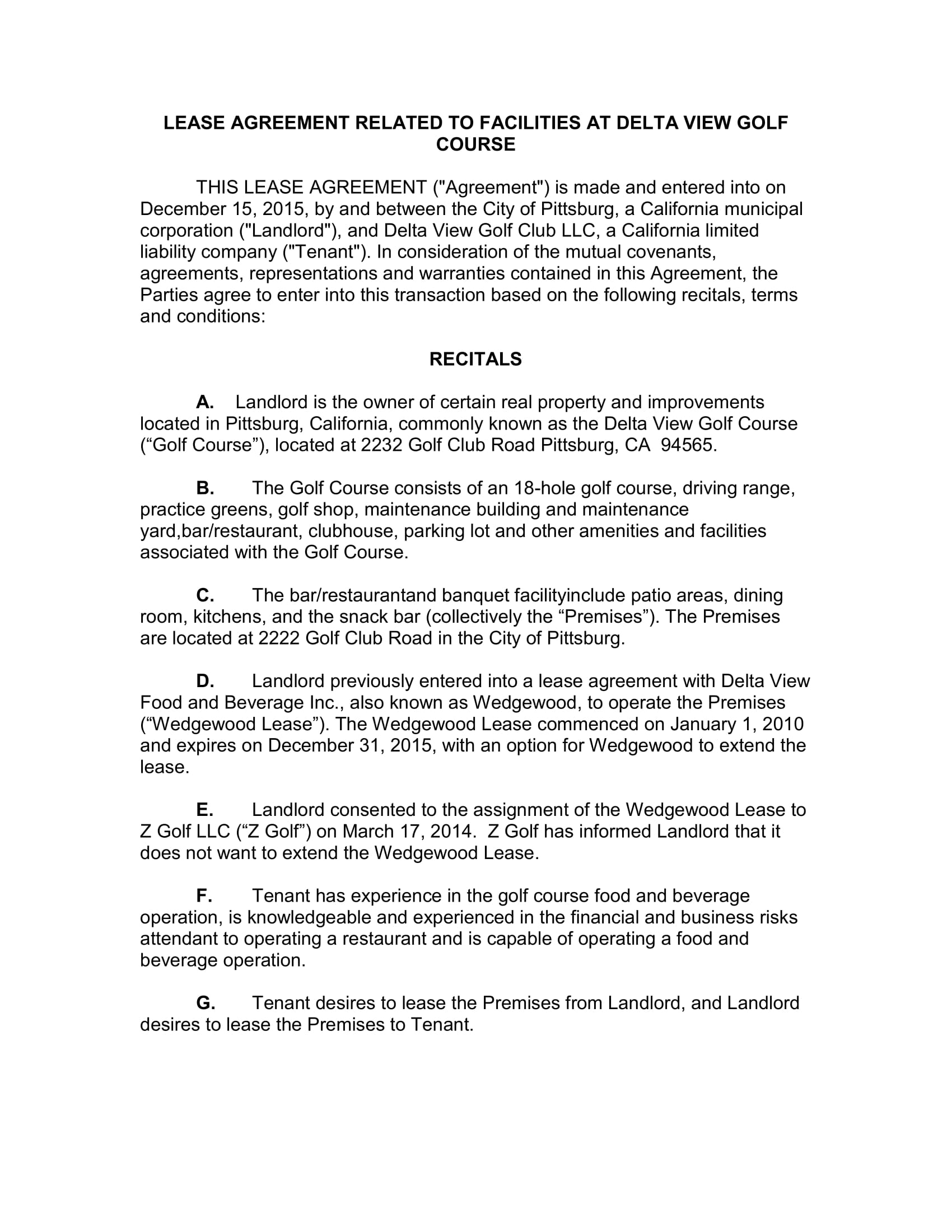 restaurant lease agreement form 01