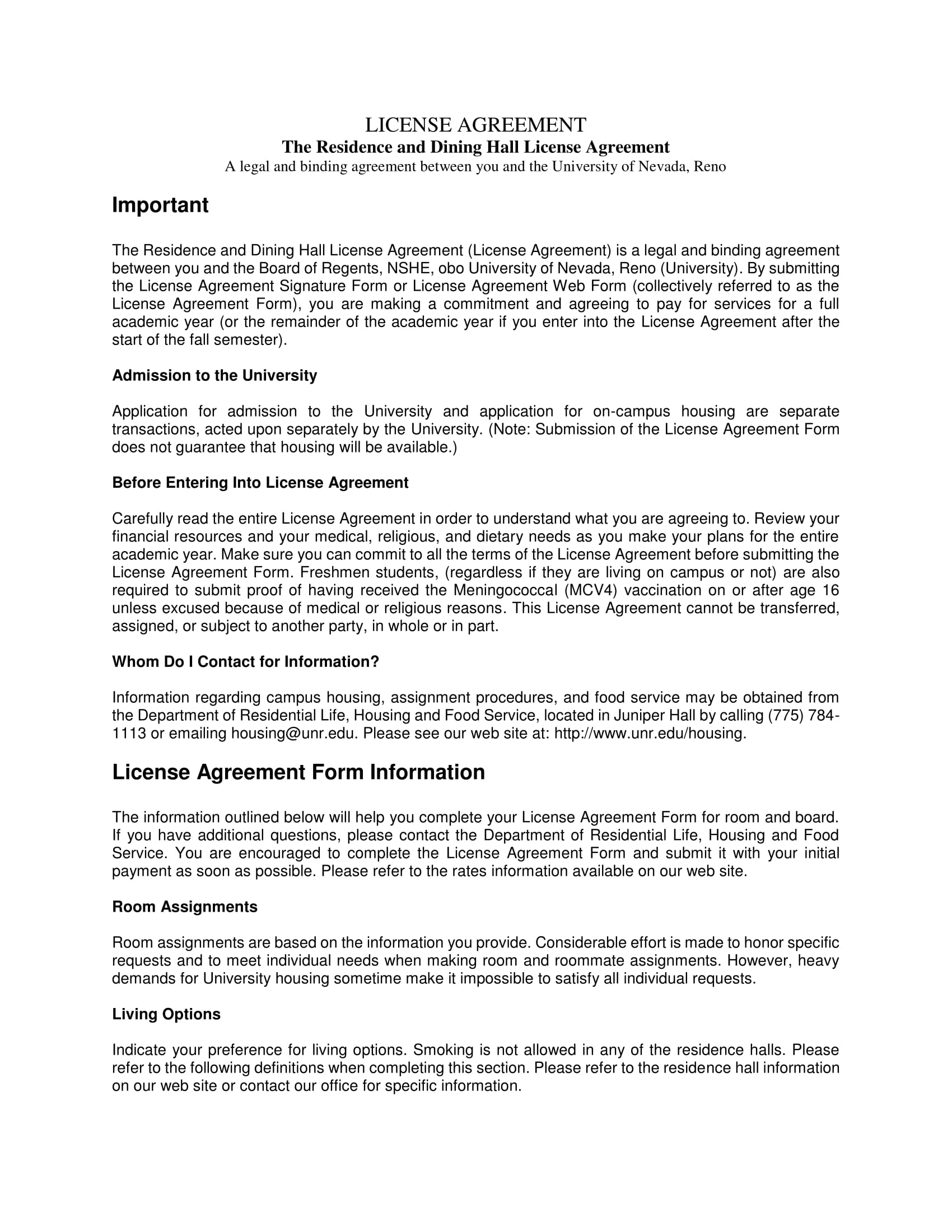 4+ License Agreement Long Forms - PDF