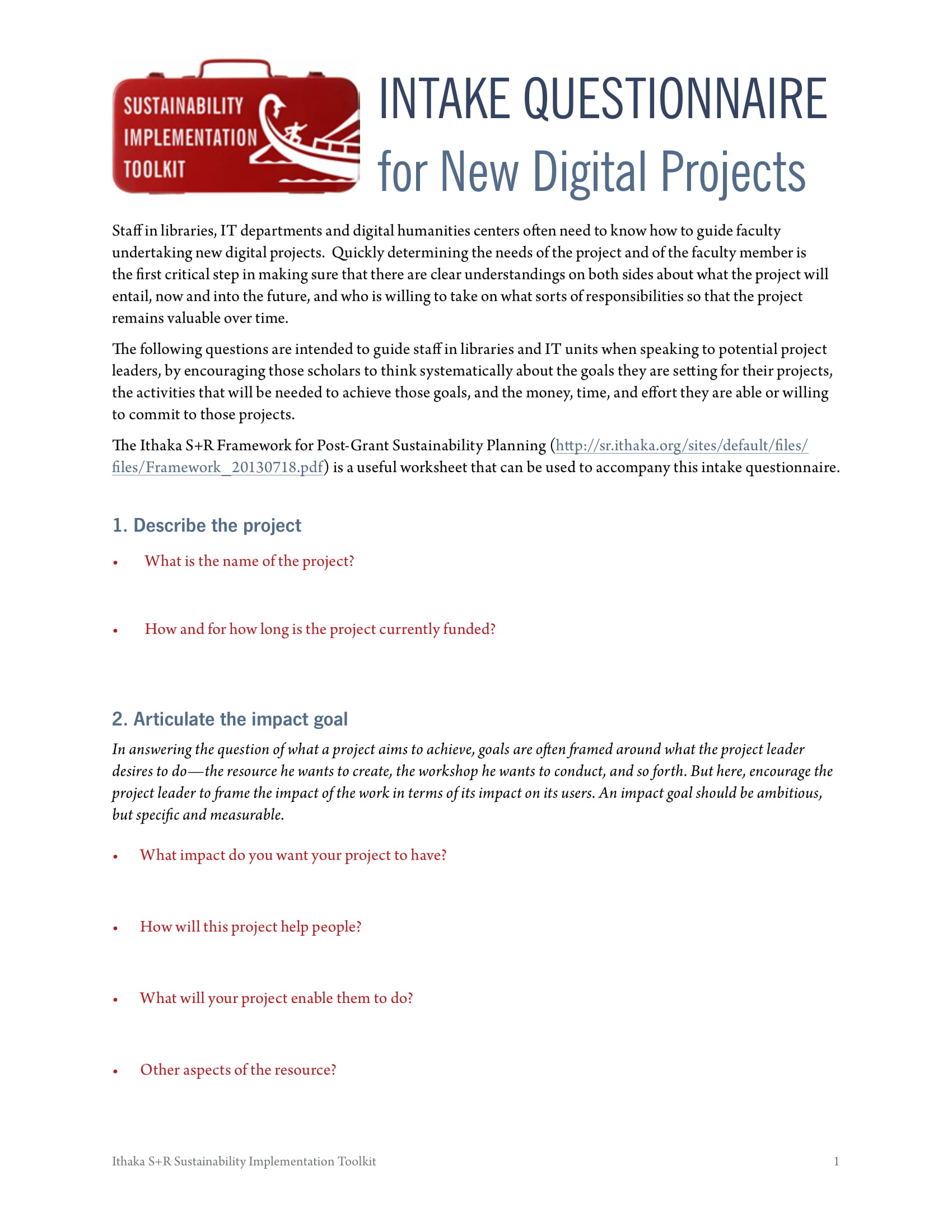 digital project intake questionnaire form 1