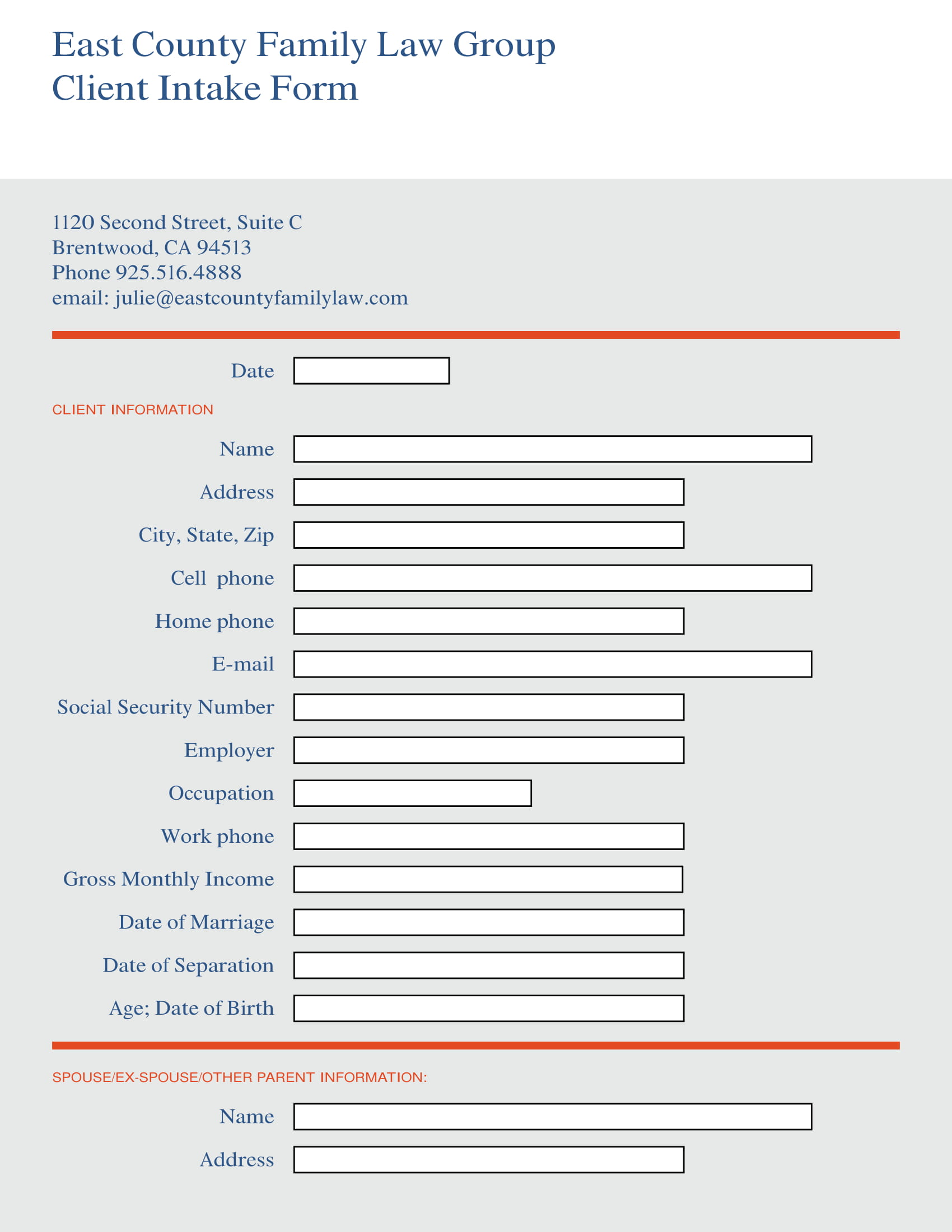 family law group client intake form 1