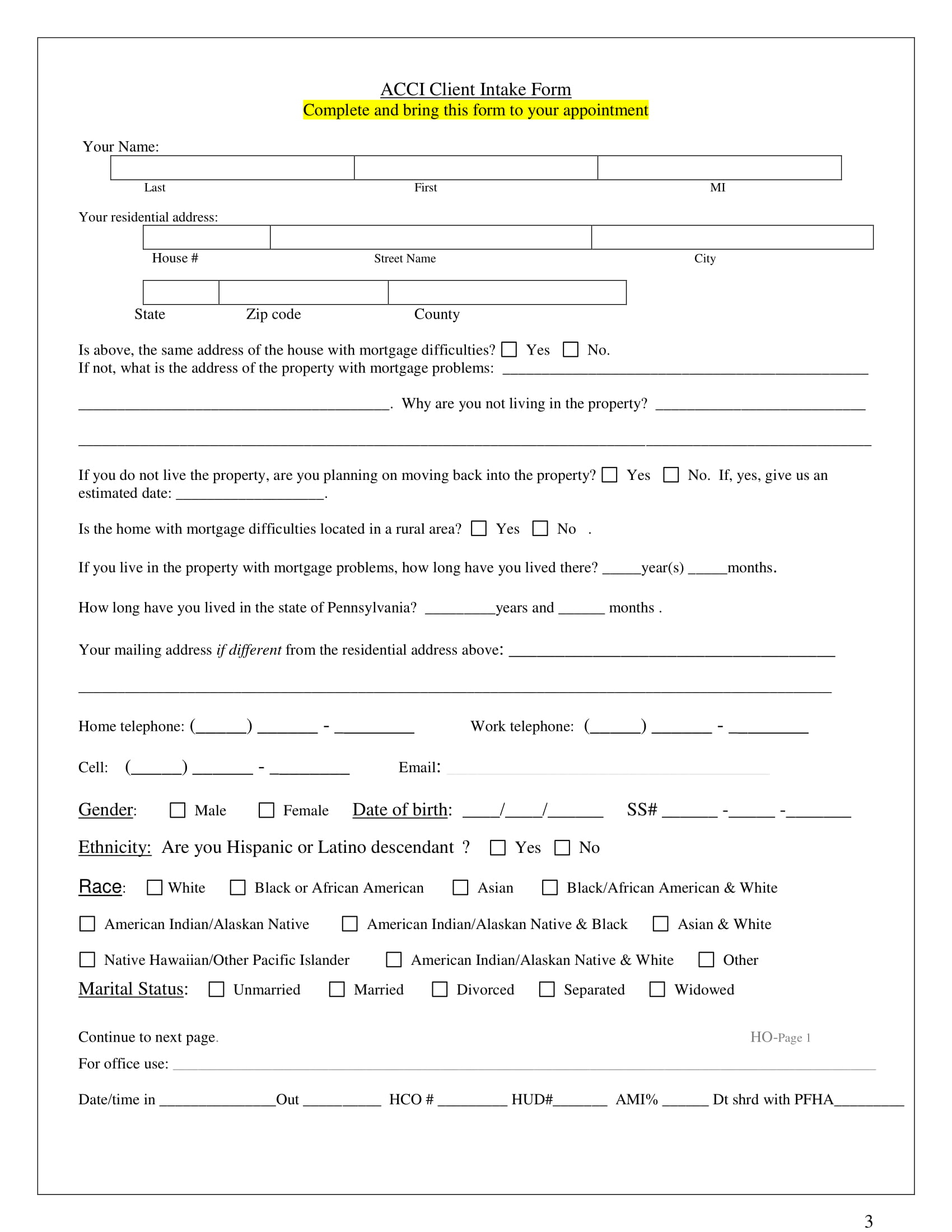 foreclosure counseling intake form 03