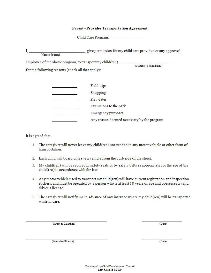 11 Legal Agreement Forms Doc