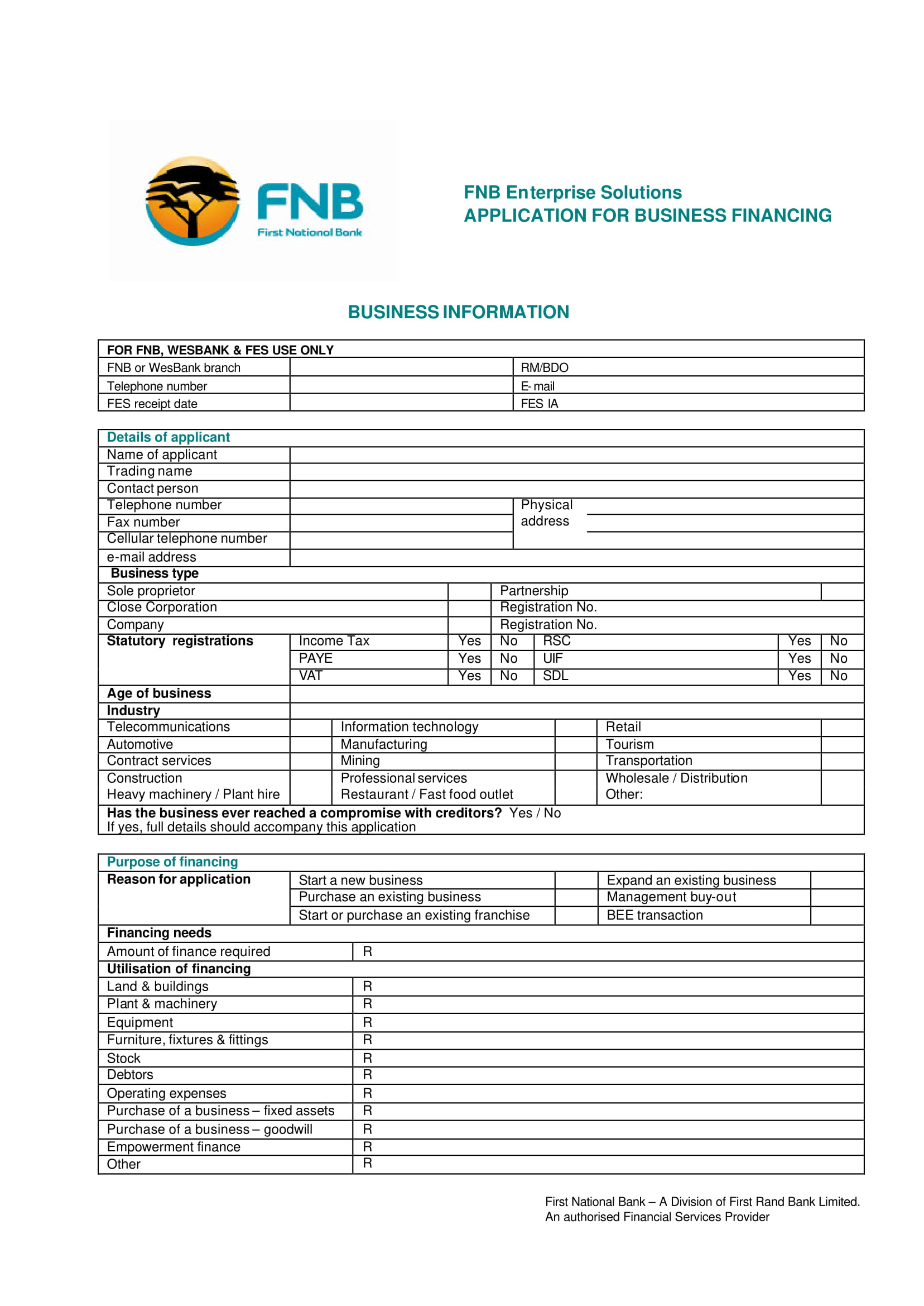 FREE 3 Sample Restaurant Finance Forms In PDF