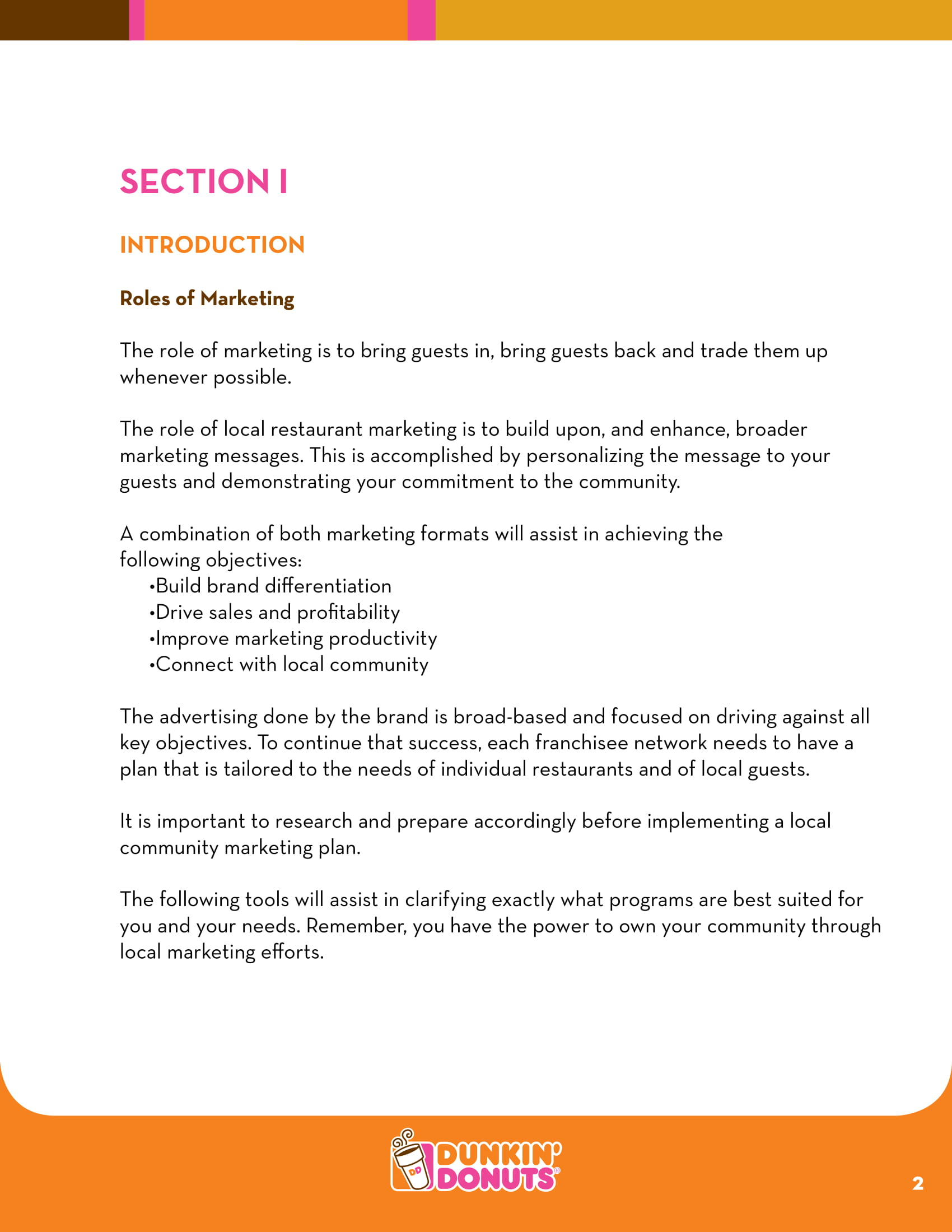 restaurant marketing plan sample template 03