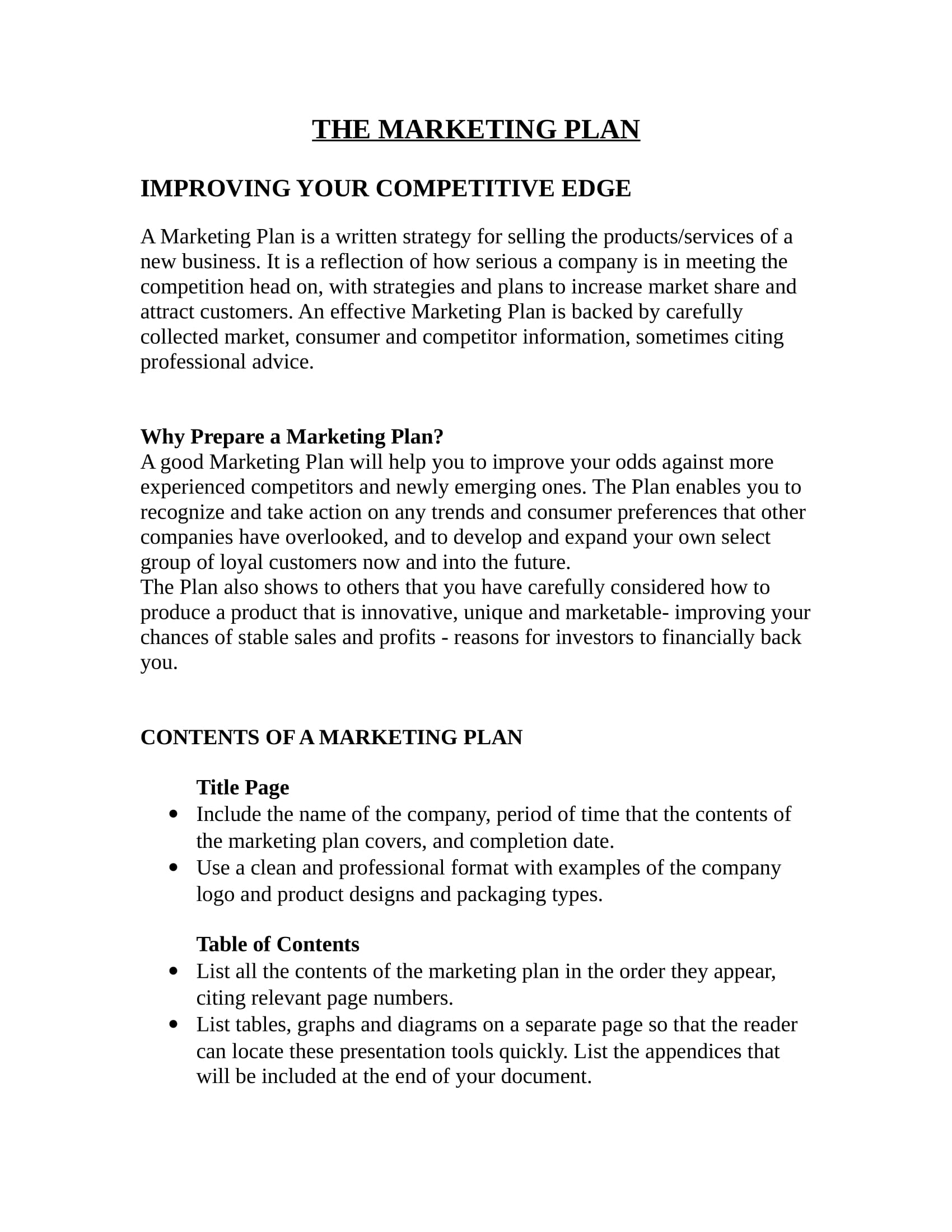 restaurant marketing plan template in doc 01