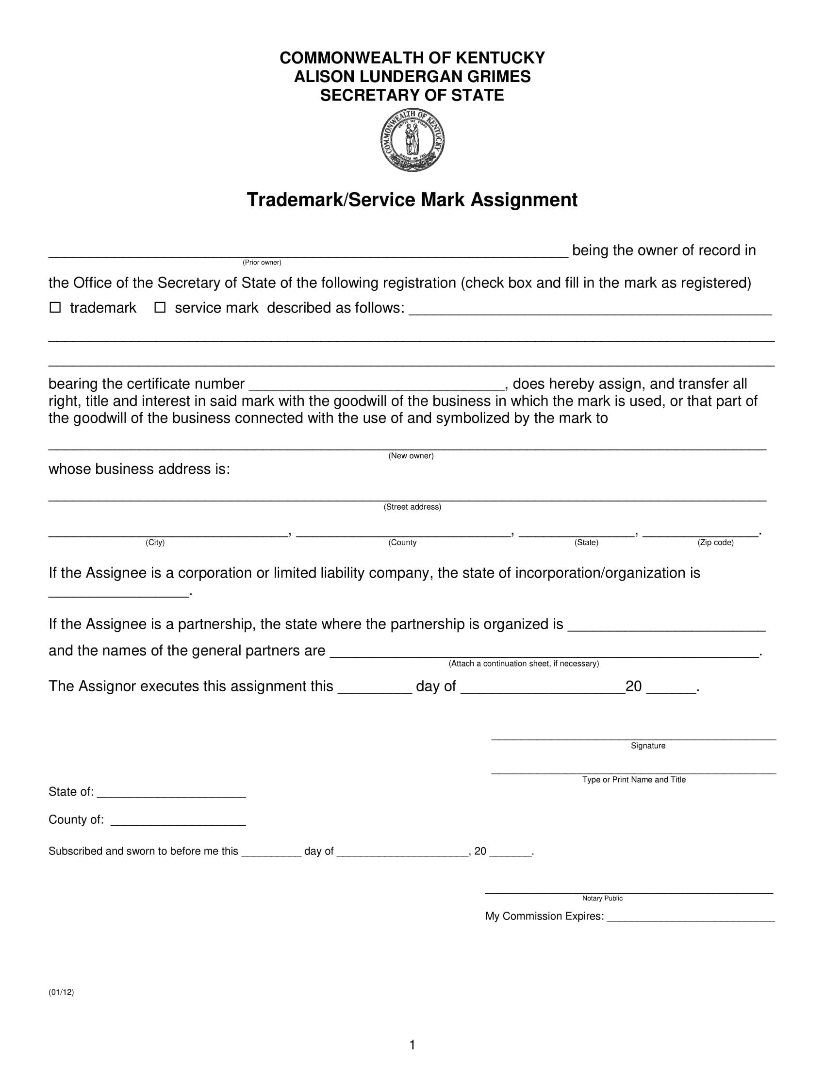 Trademark Assignment