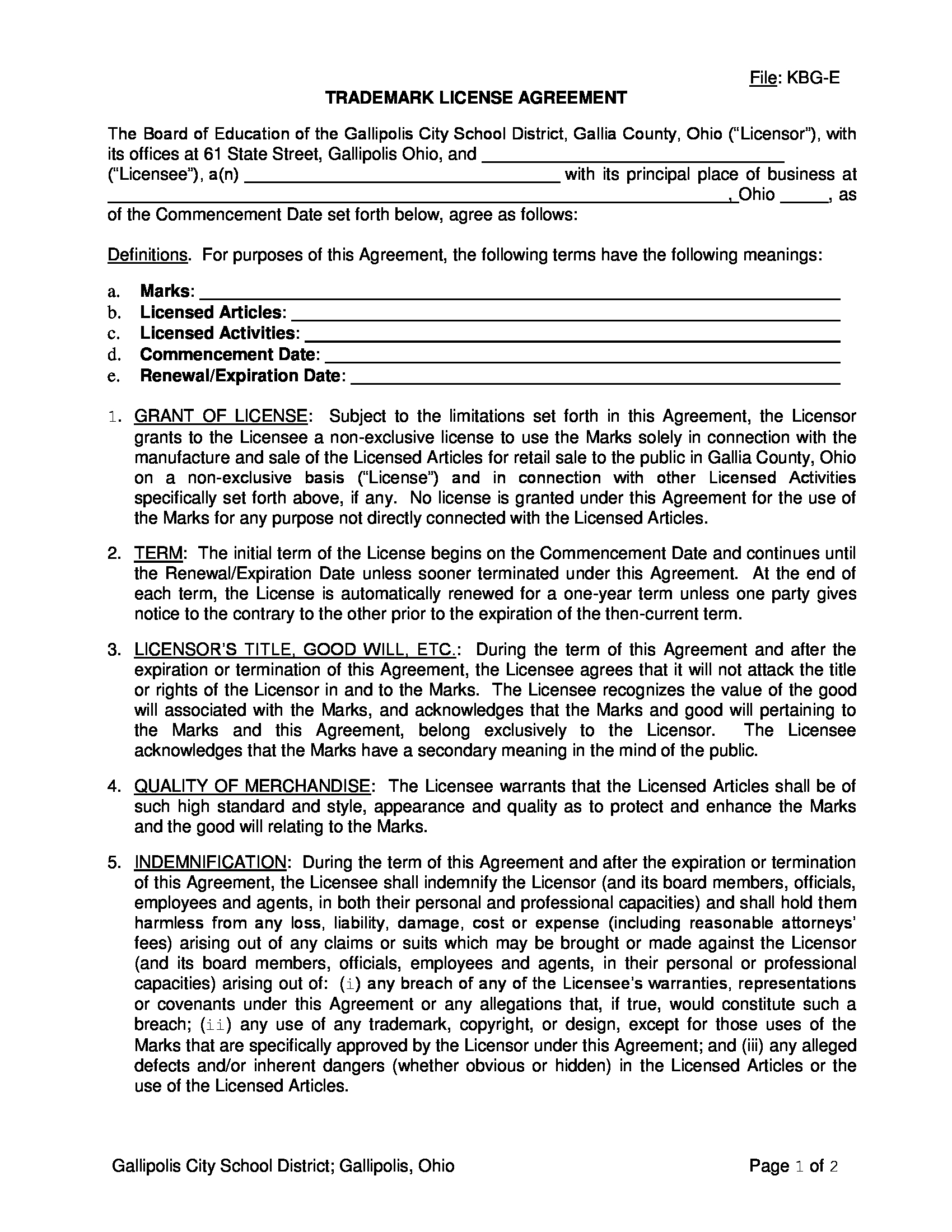 trademark license agreement form in doc 1