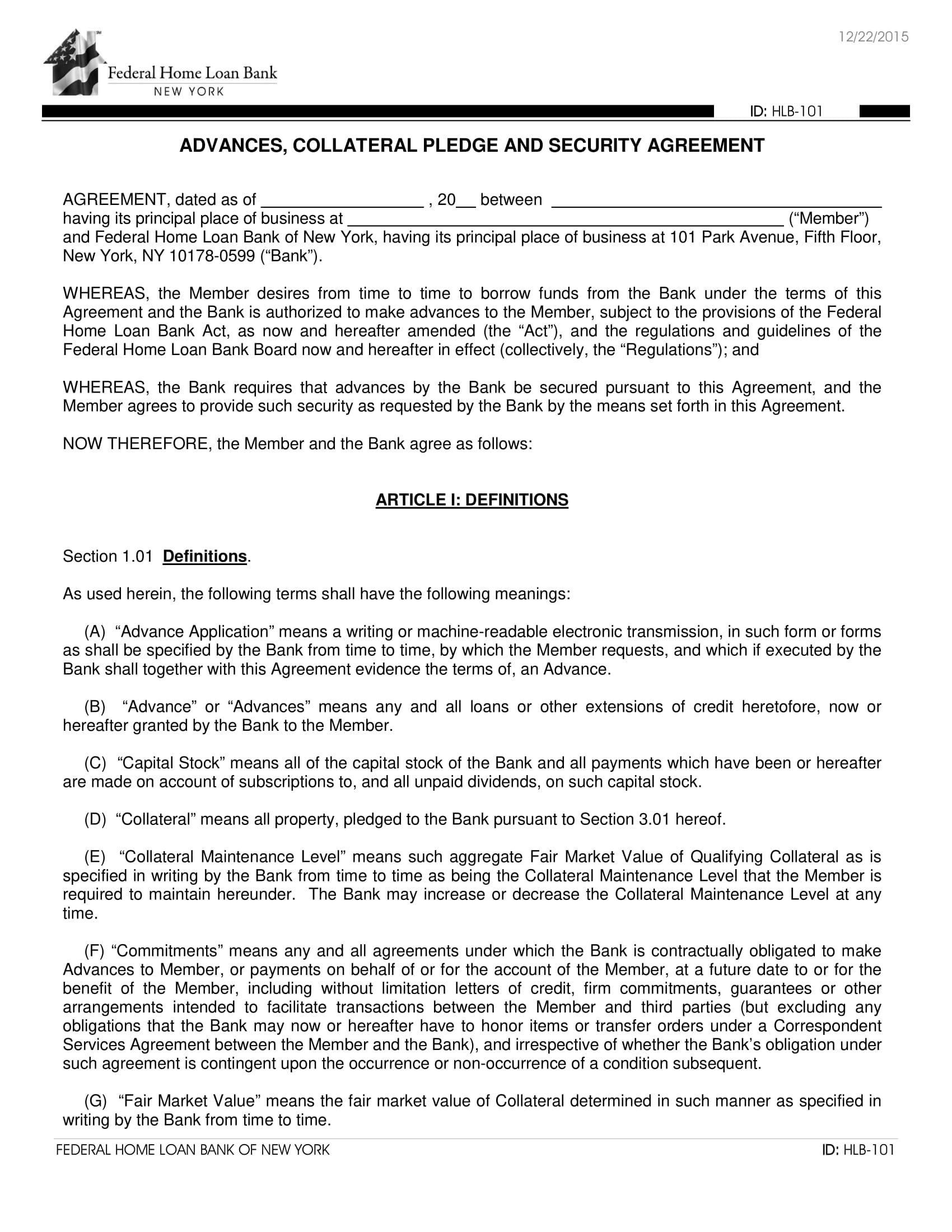 Free 6 Pledge Agreement Contract Forms In Pdf Doc
