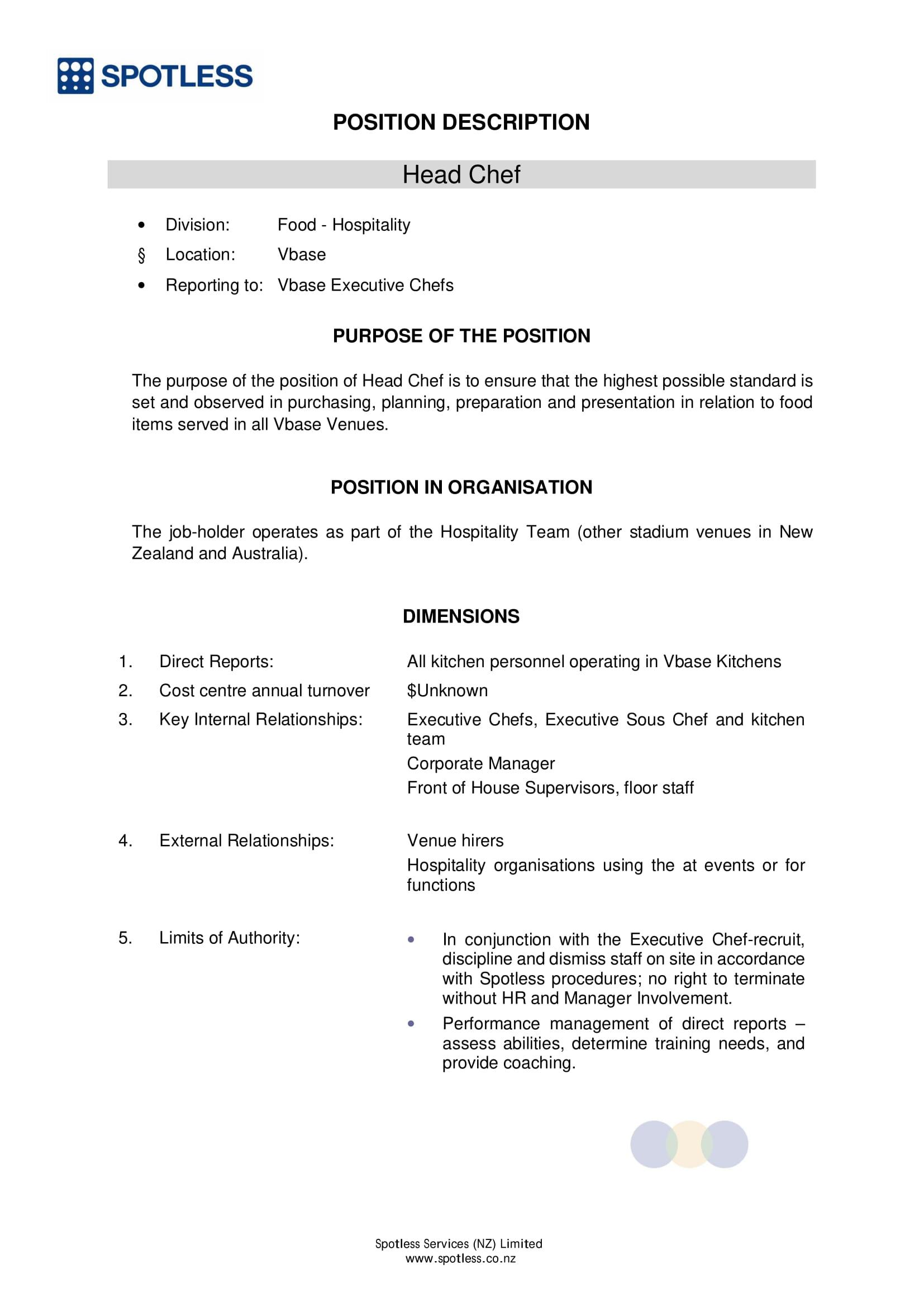 restaurant employee job request form 1