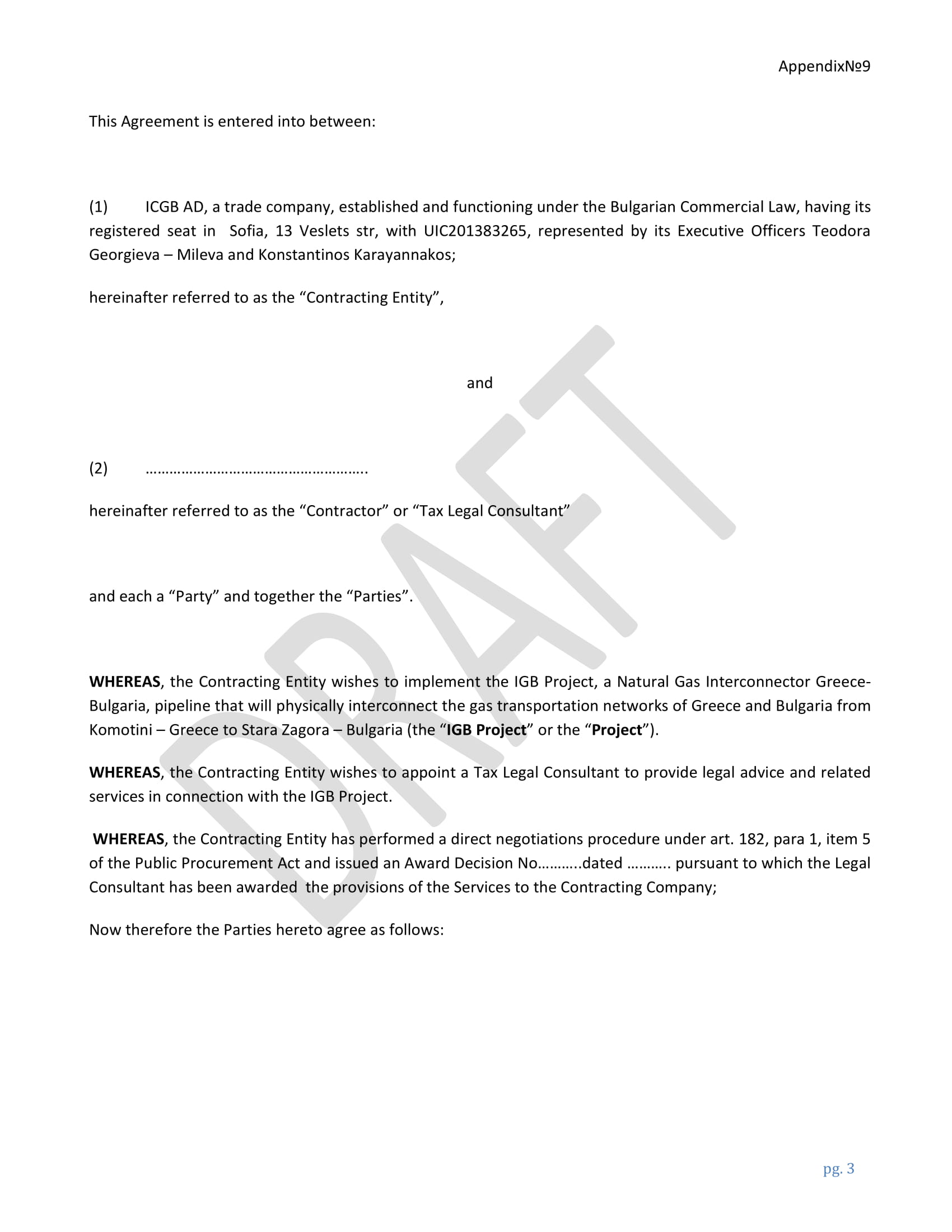 tax legal services contract form 03