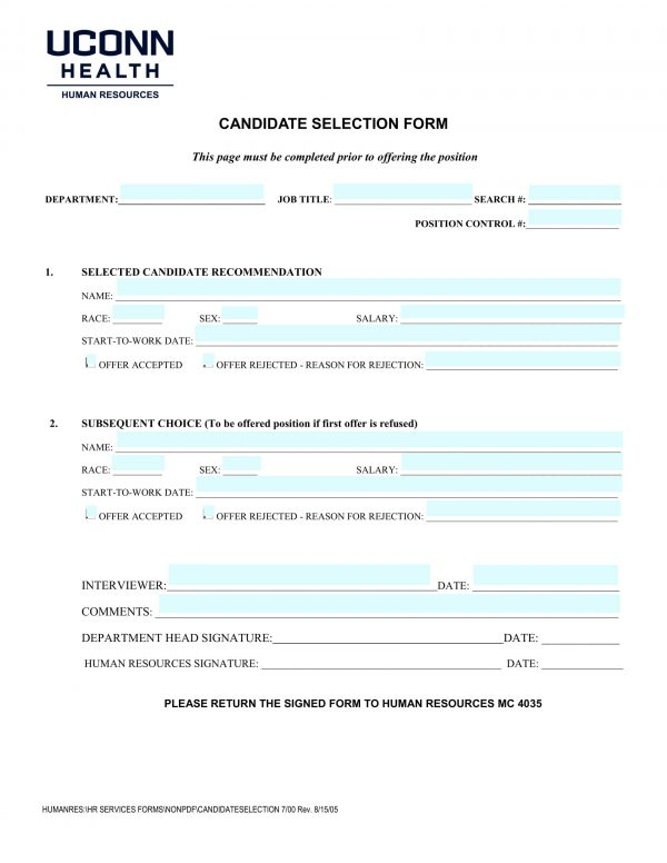 candidate selection form sample 1 e1525677525770