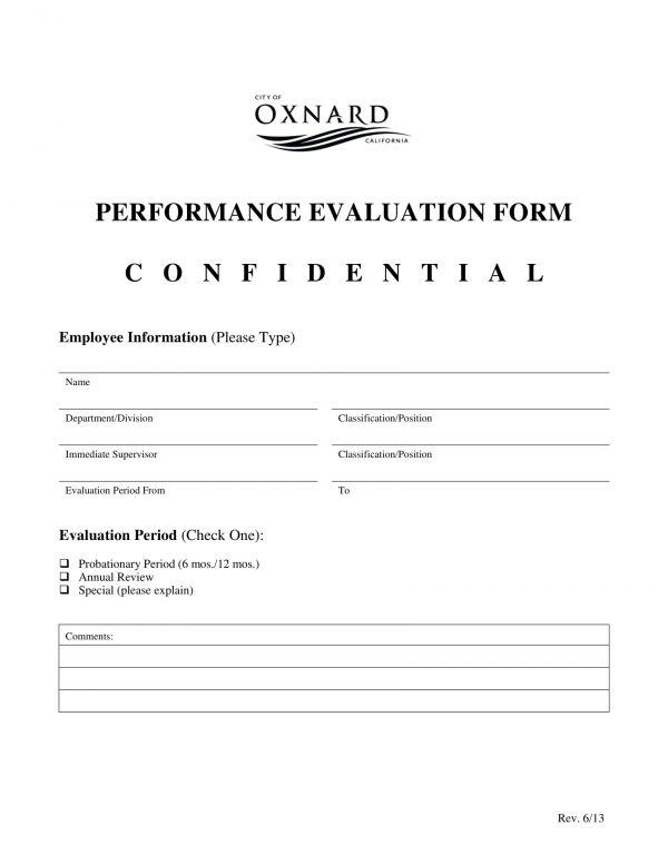 confidential performance evaluation form 1 e1526616429304
