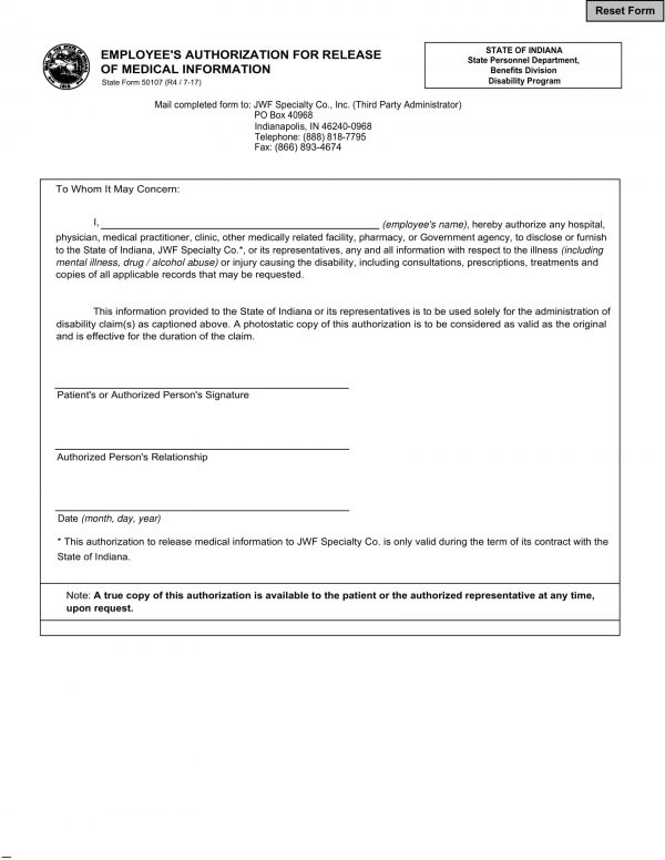 employee medical information authorization release form 1 e1526538360744
