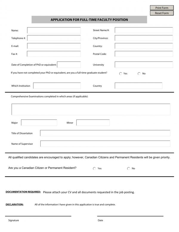 full time faculty position application form 1 e1527059934364