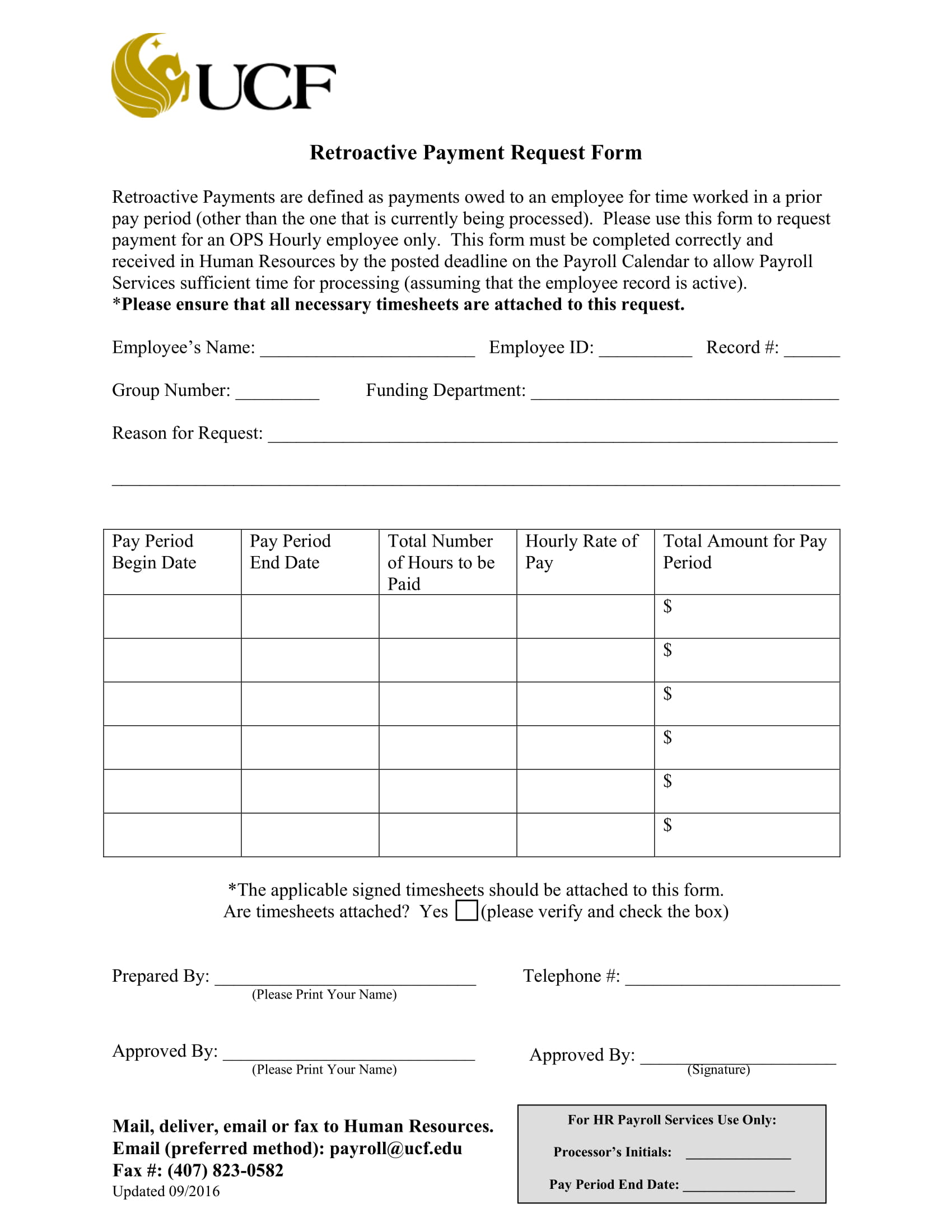 retroactive payment request form 1