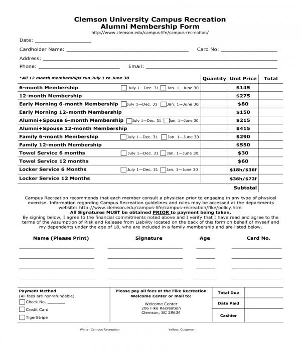 alumni membership form1