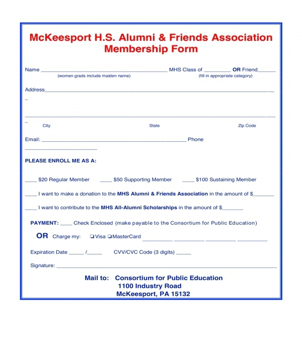 alumni and friends association membership for