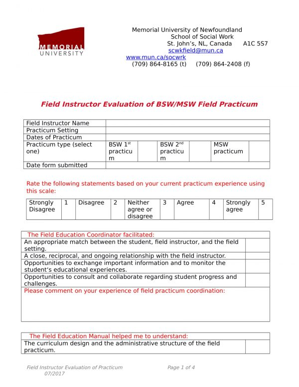 field instructor evaluation form 11 e1528274498247