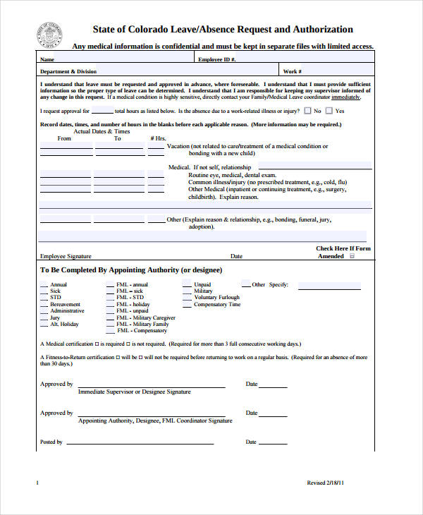 leave request authorization request form1