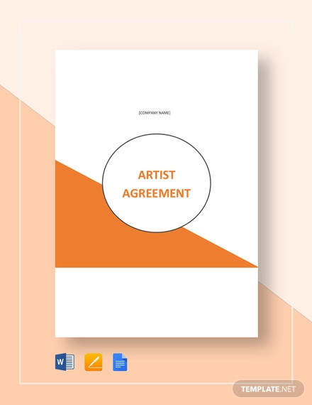 artist consignment agreement template