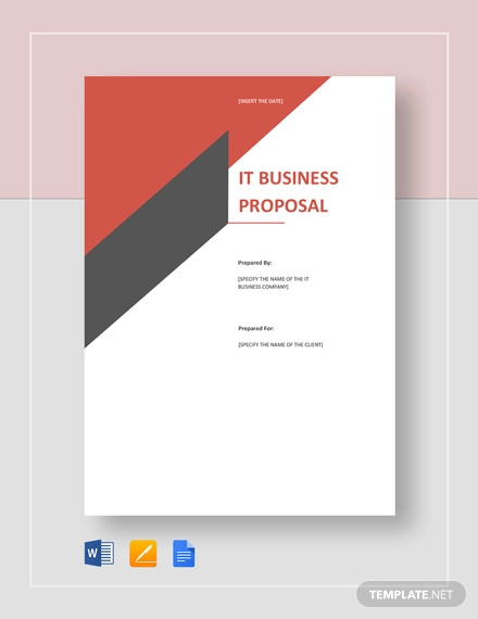 it business proposal template