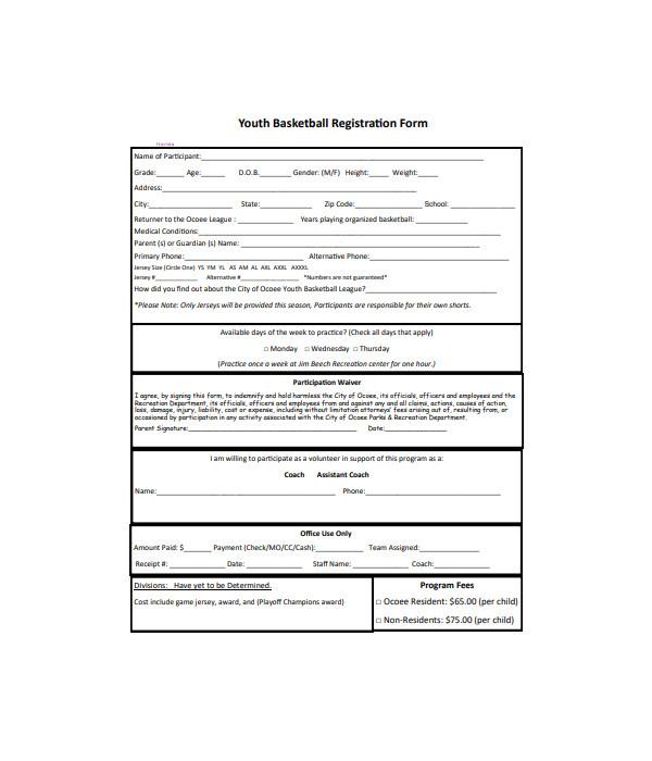 youth basketball registration form1