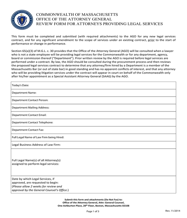 attorney performance review form
