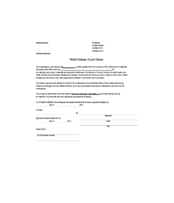 conditional partial release of lien form1