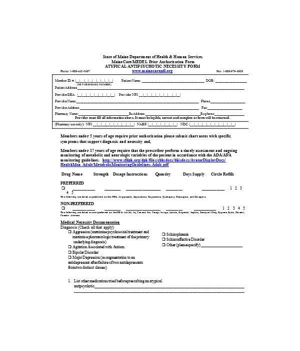 prior authorization request form1