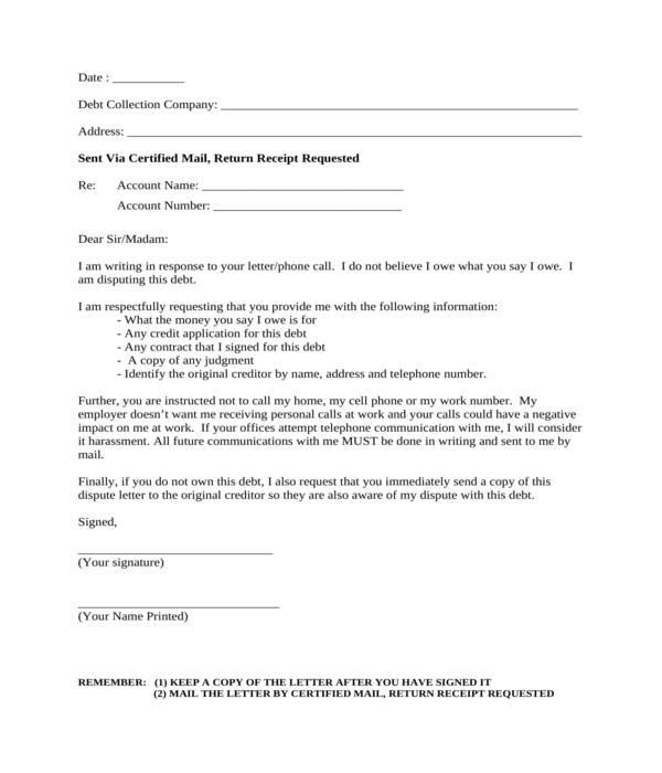 Debt Validation Letter Pdf from images.sampleforms.com