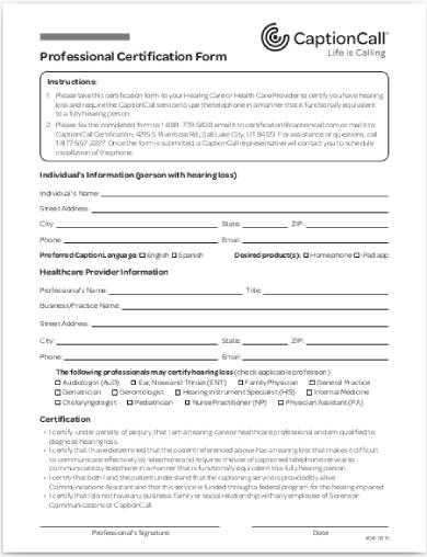 professional request for certification form1