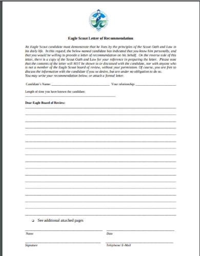 suffolk county council recommendation letter eagle scout