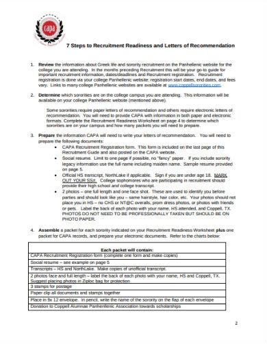 recruitment packet1