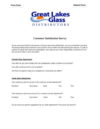 customer satisfaction survey 1 1