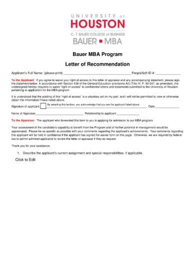 mba letter of recommendation 1 1