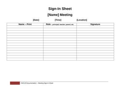 visitor sign in out sheet template