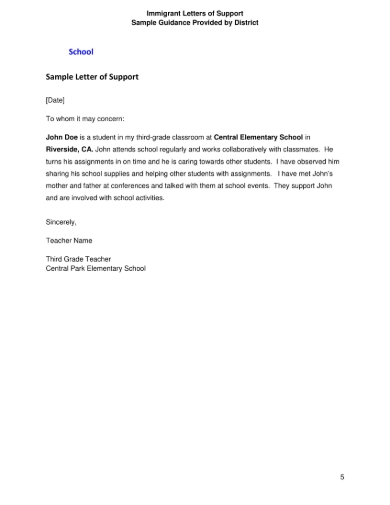 Good Moral Character Immigration Letter from images.sampleforms.com