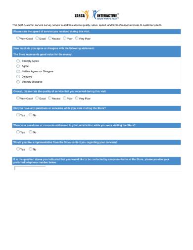 customer service brief version 1 1