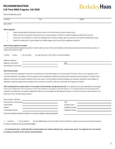 ftmba letter of recommendation 1 1