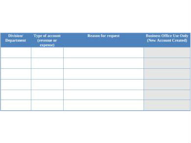 accounting code request form1