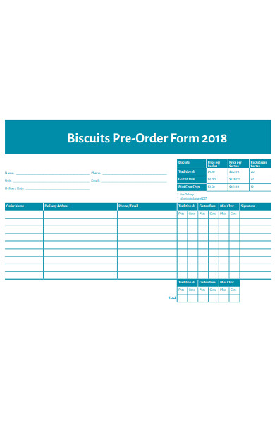 biscuits preorder form