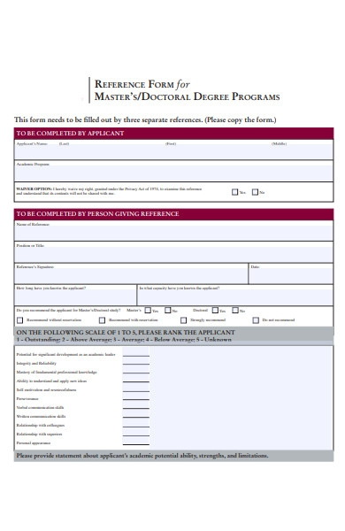doctor recommendation form