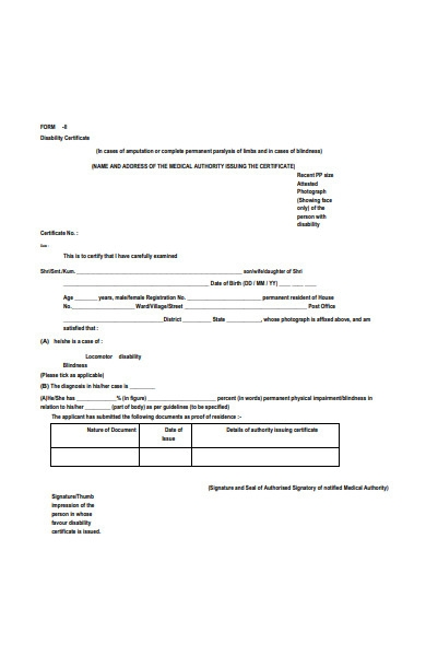 ex servicemen registration form