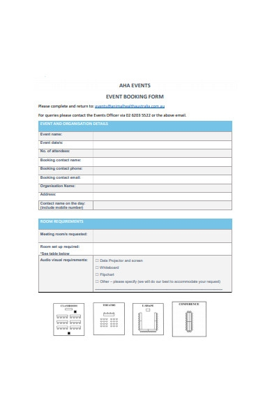 general event booking form1