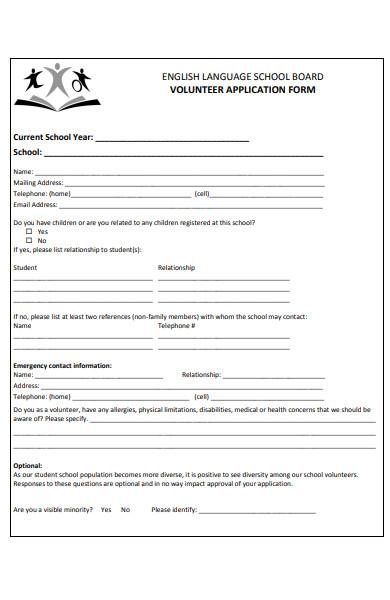 general volunteer form