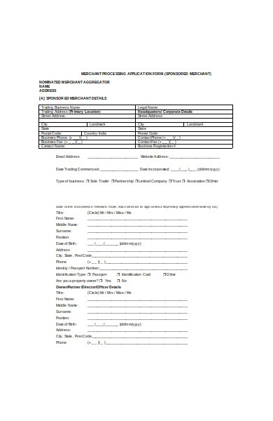 merchant processing application form1