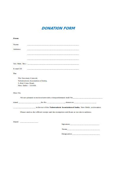 printable donation form1